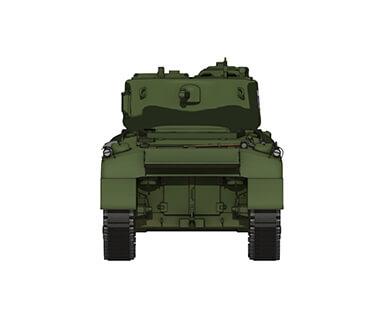 M4A1シャーマン 76mm砲搭載型