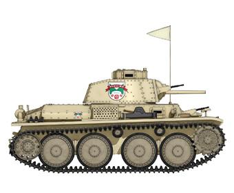 38(t)戦車B/C型