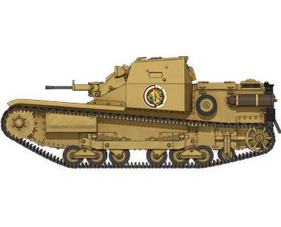 CV33快速戦車(L3/33)